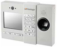Fingerprint TA system with Access Control LCD screen