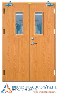 Wooden Fire Cum Acoustic Door