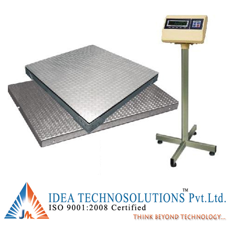 Heavy Duty 4 LC Platform Scales