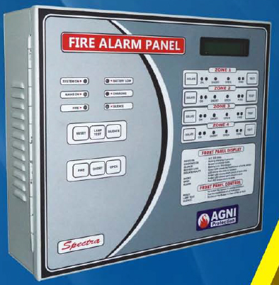 Spectra(2 to 4 zones) Fire Alarm Panel