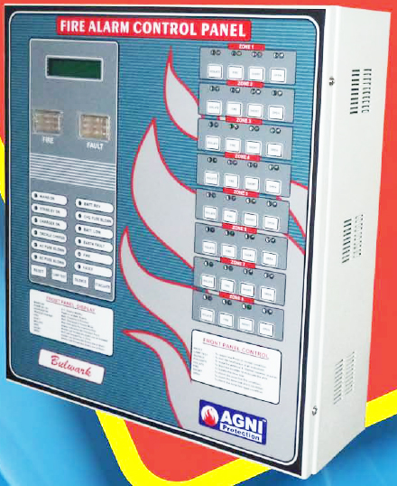 Bulkwark(6 to 8 zones) Fire Alarm Panel