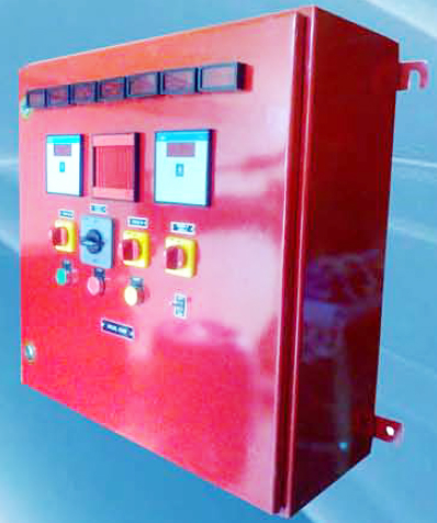 Diesel engine control panel