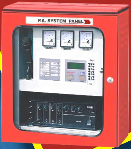 Microprocessor Based Panel with PA System