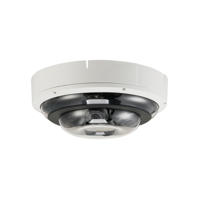 4x2MP IR Dome Network Camera